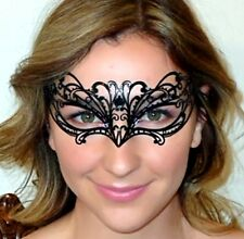 Masquerade Mask Chelsea Metal Lace - Italian Made  Comfy Overnight to Metro Aust