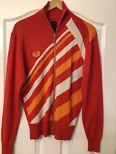 Adidas Originals Carlo Gruber Retro Orange Full Zip Jumper Size M RARE ITEM