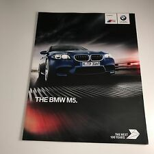BMW M5 Sales Brochure Inc. BMW Individual & Competition Package Specifications