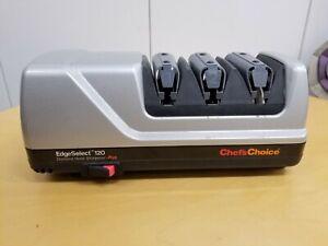 Chef's Choice Edge Select 120 Diamond Hone Plus Electric Knife Sharpener Exc