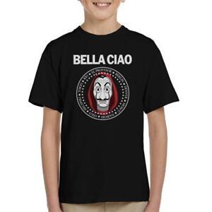 Casa De Papel Money Heist Bella Ciao Kid's T-Shirt