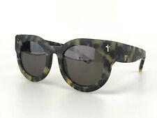 Valley Sunglasses mod. A Dead Coffin Club Cat Eye Brown Matte Tortoise Handmade