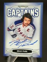 2006-07 Parkhurst Autographs #195 Brad Park Captains Hard Signed
