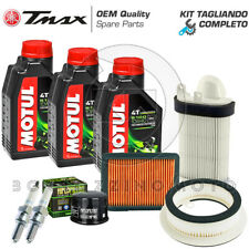 KIT TAGLIANDO  YAMAHA T-MAX 500 2008-2011 FILTRI ARIA / OLIO MOTUL 5100 +CANDELE