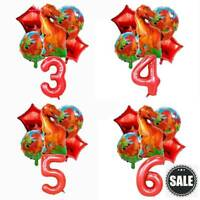 6Pcs 32inch Dinosaur Foil Balloons Helium Balloon Children Birthday Party