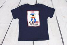 """Paul Frank Julius Uncle Sam """"No, Not You"""" Short Sleeved Graphic T Shirt Size 3T"""