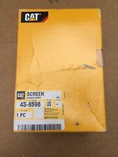 Caterpillar Nos Oem Screen 4s 8598 Cat Factory Parts 4s8598