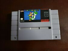 Super Mario World (Super Nintendo, 1991) Cart with manual) no box)