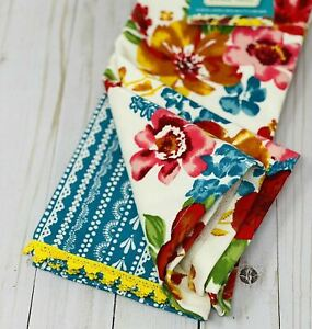 The Pioneer Woman Wildflower Whimsy Towels Set NEW With Tag, Farmhouse Charm
