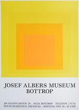 Josef Albers Gelbes Quadrat Plakat Poster Kunstdruck Bild 84,1x59,4cm