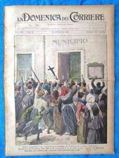 La Domenica del Corriere 23 gennaio 1921 Stroppiana- Galles -Maria Bona,Corrado