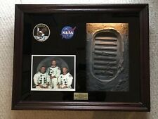 Beautiful Apollo 11 Display And 3D Back Lit Sculpture, Limited Edition 23/100 !