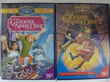 Der Glöckner von Notre Dame 1 + 2 - Walt Disney Sammlung - Zirkus, Mittelalter