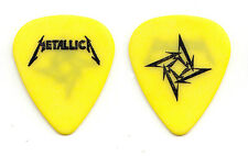 Metallica James Hetfield Yellow Ninja Star Guitar Pick - 1996 Tour