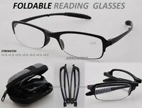 Fold-able Folding Travelling Reading Glasses +1.0 +1.5 +2.0 +2.5 +3.0 +3.5 +4.0