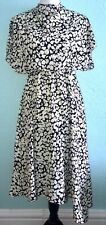 Stockholm Atelier & Other Stories Print Dress Anthropologie Asymmetrical Hem S