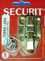 Securit 70mm  Case Clips Nickel Plated , bright Chrome, S6602