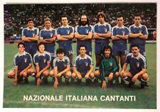 Pubblicitaria Squadra Calcio Nazionale Italiana Cantanti - Torino 11 Maggio