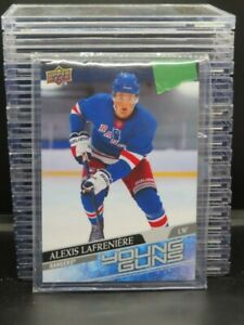 2020-21 Upper Deck Alexis LaFreniere Jumbo Young Guns Rookie Box Topper Y302