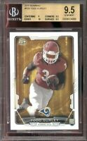 2015 bowman #r28 TODD GURLEY st louis rams rookie card BGS 9.5 (9 9.5 10 9.5)