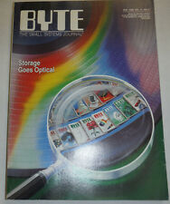 Byte Magazine Storage Goes Optical May 1986 111314R1