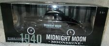 Autographed Junior Johnson Midnight Moon Moonshine Signed 1:18 1940 Ford