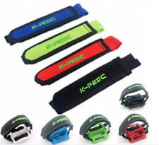 Bike Bicycle Adhesive Pedal Toe Clip Strap Fixie BMX Fixed Gear Belt 1 Pair