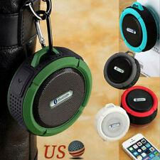 Waterproof Mini Portable Stereo Speaker MP3 Player Wireless BT Shower Loud Radio