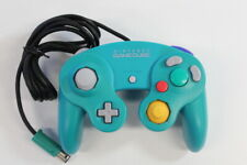 Official Nintendo GameCube Controller Pad Teal Emerald Blue T3 Tight OEM GO505