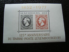 LUXEMBOURG - timbre yvert et tellier bloc n° 10 n** (Z7) stamp (A)