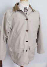 L.L. Bean Adirondack Barn Coat Flannel Lined Water Resistant Cotton Men's Large