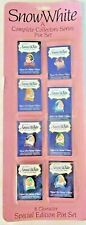 Walt Disney's Snow White and Seven Dwarfs A Complete Collectors Series Pin New