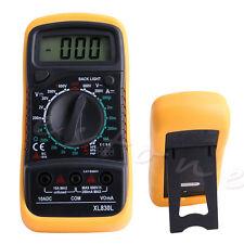 Digital LCD Multimeter Voltmeter Ammeter AC DC OHM Circuit Checker Tester Buzzer