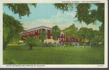 Hotel Wyoming ~ Orlando FLORIDA ~ Vintage LINEN