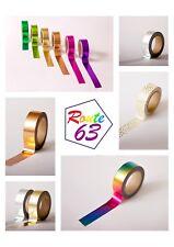 Foil Washi Tape Rose Gold Copper Metallic Masking Self Adhesive Quality Branding