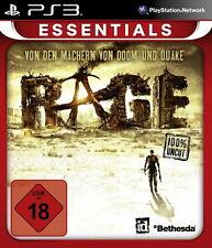 PS3 / Sony Playstation 3 Spiel - Rage (mit OVP)