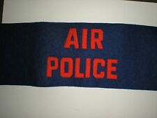 Scarce Original 1950'S Era Usaf Air Police Armband - Missing Hardware