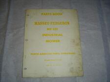 Massey Ferguson Mf135 Mf 135 Industrial Mower Parts Catalog Manual Book
