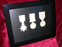 WW1 Medal Frame-1914 or 1915 Star British War & Victory Medals Trio