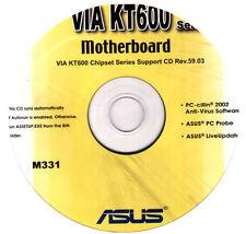 DRIVER CD x scheda madre main board ASUS VIA KT600 SERIES