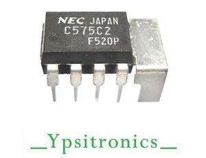 UPC575C2 INTEGRATED CIRCUIT AMPLIFIER AUDIO  ORIGINAL  NEC - NEW