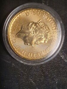 1/2 oz GOLD BRITANNIA COIN 2020 Bullion In Capsule #1