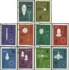 Polen 1437-1446 (kompl.Ausg.) gestempelt 1963 Eroberung des Weltraums EUR 1,20