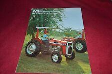 Massey Ferguson 245 230 Tractor Dealers Brochure YABE10