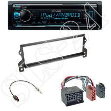 Kenwood KDC-300UV + Mini Cooper(R50) Blende black + ISO-Adapter (Rund-Pin)