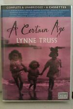 A Certain Age by Lynne Truss: Unabridged Cassette Audiobook (QQ2)