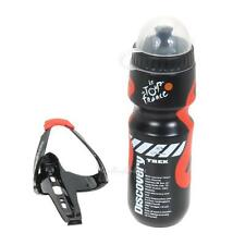 650ml MTB Cycling Bike Bicycle Outdoor Sports Water Bottle + Holder Cage Rack
