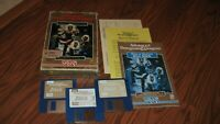 """Pools of Darkness Commodore Amiga on 3.5"""" disks with rule book, data card & box"""