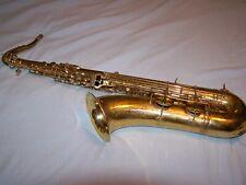 1935 Vintage Buescher Aristocrat Series I Tenor Saxophone with case