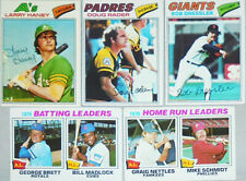1977 -Topps- Vintage Baseball Cards - 251-500 - Finish Set - You Pick/Choose!